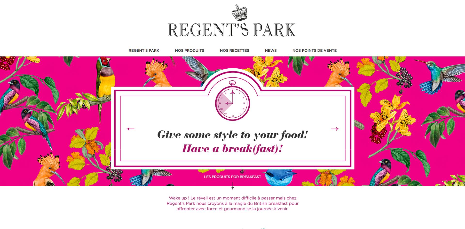 Site Regent's Park - Agence F+